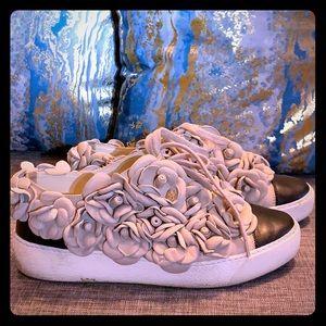*RARE AUTHENTIC* Chanel Camellia Sneakers 36.5